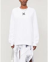 Selfridges Leo Tarot-print relaxed-fit cotton-blend sweatshirt