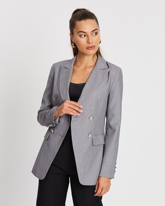 Spurr Double-Breasted Blazer