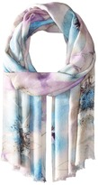 Bindya Stole Water Color Floral Scarf