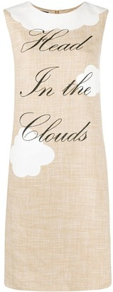 Boutique Moschino Head in the Clouds dress