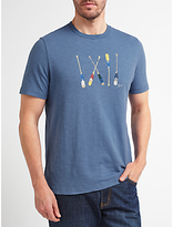 John Lewis Boat Oars T-shirt, Blue