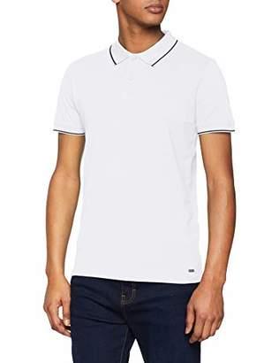 Esprit edc by Men's 029CC2K012 Polo Shirt, (White 100), M