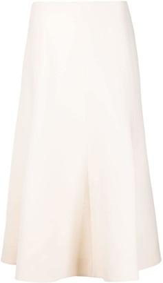 Valentino high-waisted A-line skirt