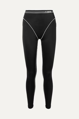 Adam Selman Sport Stretch Leggings - Black