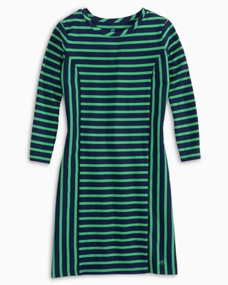 Southern Tide Pippa Striped Performance Dress