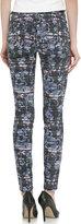 Current/Elliott Ankle Skinny Jeans, Etched Floral