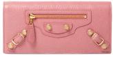 Balenciaga Giant Leather Continental Wallet