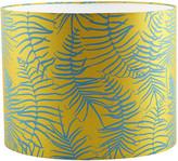 Clarissa Hulse Feather Fern Lamp Shade - Tumeric/Kingfisher