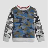 Joe Fresh Toddler Boys' Camo Print Sweatshirt