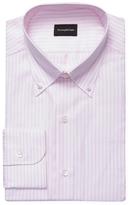 Z Zegna Striped Button Down Dress Shirt