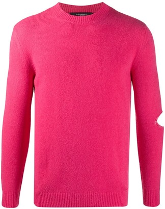 Stella McCartney Cut-Out Crew-Neck Jumper