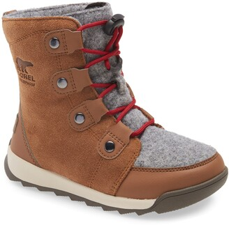 Sorel Whitney II Waterproof Lace-Up Boot