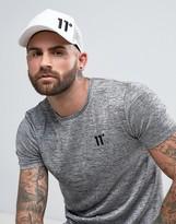 11 Degrees Trucker Cap In White