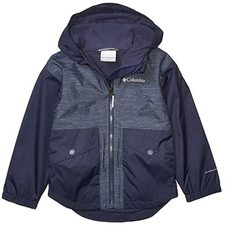 Columbia Kids Rainy Trailstm Fleece Lined Jacket (Little Kids/Big Kids) (Nocturnal) Girl's Clothing