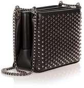 Christian Louboutin Triloubi small black spikes bag