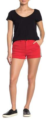 PAM AND GELA Lace Up Detail Shorts