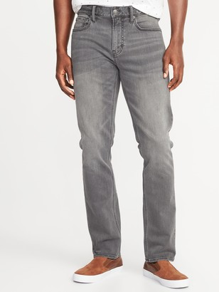 Old Navy Slim 24/7 Built-In Flex Gray Jeans For Men