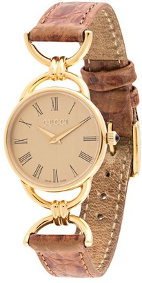 Gucci Pre Owned Pre-Owned Ladies Quartz Watch