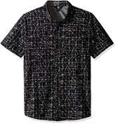 Volcom Men's Invert Geo Short Sleeve Shirt
