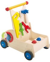 The Well Appointed House Haba: Child's Carpenter Pixie Walker Wagon - LOW STOCK - ORDER NOW !