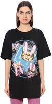 Marc Jacobs Cats Printed Cotton Jersey T-Shirt