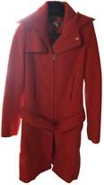 Patrizia Pepe Orange Wool Coat for Women