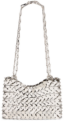 Paco Rabanne Perforated Disc 1969 Bag in Silver | FWRD