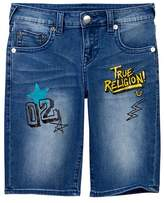 True Religion Slim Single End Short (Big Boys)