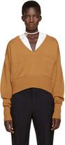 Chloé Orange Cashmere Sweater