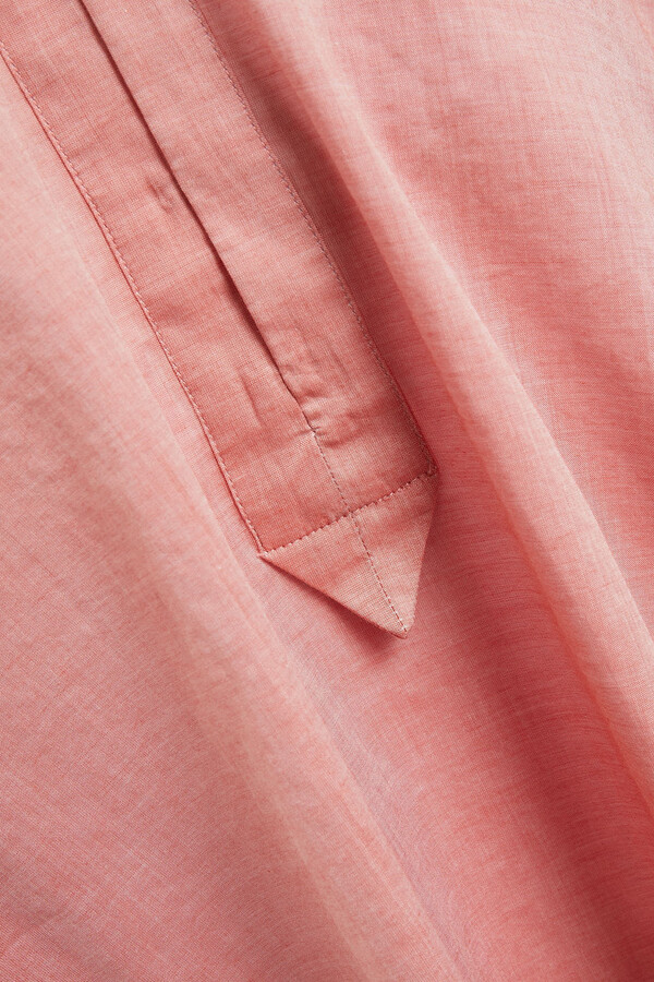 Thumbnail for your product : Rodebjer Sakina Gathered Cotton-voile Top