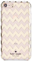Kate Spade Chevron Gold Foil iPhone 7 Case