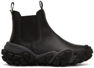Acne Studios Black Gum Boots