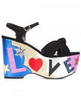 Saint Laurent 'Candy 50 Love' knotted sandals
