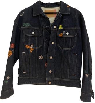 Acne Studios Bla Konst Navy Denim - Jeans Jackets