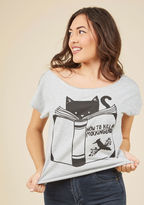 ModCloth The Claw Thickens Tee in S