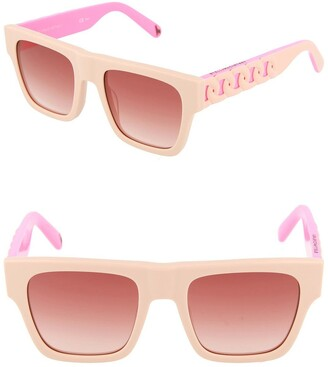 Stella McCartney 45mm Square Sunglasses