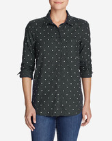 Eddie Bauer Women's Stine's Favorite Flannel Shirt - One-Pocket Boyfriend