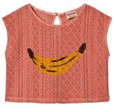 Bobo Choses Lobster Bisque Banana Motif Sleeveless Shirt