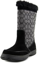 Coach Sherman Women US 9 Black Winter Boot
