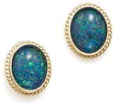 Bloomingdale's Opal Triplet Bezel Medium Stud Earrings in 14K Yellow Gold - 100% Exclusive