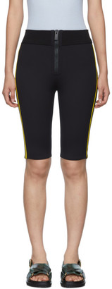 M Missoni Black Scuba Bike Shorts