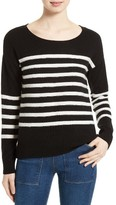 Joie Women's Simonne Stripe Wool & Cashmere Sweater