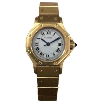 Cartier Santos GalbAe Yellow Yellow gold Watches