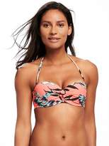 Old Navy Twist-Front Bandeau Bikini Top for Women