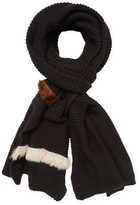 "Donni Charm Women's Donni Parallel Wool Long Scarf, 120"" x 30"""