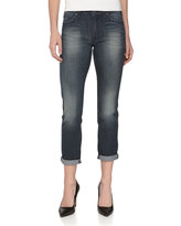 Rich and Skinny Ankle Roll Cropped Boyfriend Jeans, Harvest