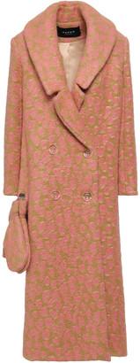Paper London Rainbow Leopard-print Felt Coat