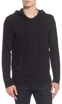 Velvet by Graham & Spencer Men's Modern Trim Pullover Hoodie
