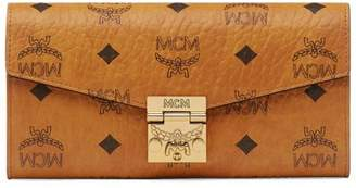 MCM Large Patricia Visetos Leather Wallet-On-Chain