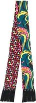 La DoubleJ Flapper Tight double printed scarf